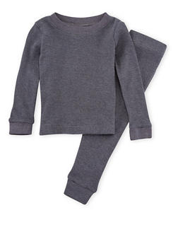 Girls 7-16 Ribbed Top and Leggings Set - 6566054730013