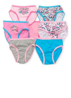Toddler Girls Set of 7 Cat Panties - 6567054730014