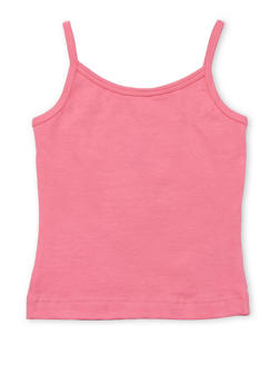 Girls 4-6x French Toast Pink Cami Top - 6603068320038