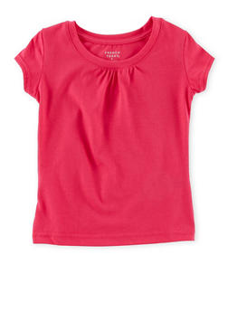 Girls 4-6x French Toast Shirred T Shirt - 6603068320064