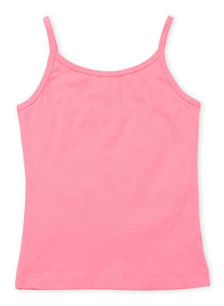Girls 5-16 French Toast Pink Cami - 6604068320040