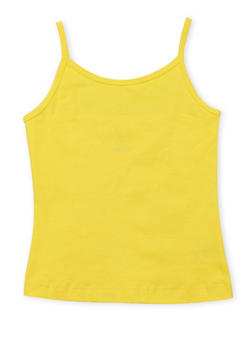 Girls 7-16 French Toast Yellow Cami Tank Top - 6604068320041