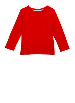 Boys 4-7 French Toast V Neck Top with Long Sleeves - 6703068320005