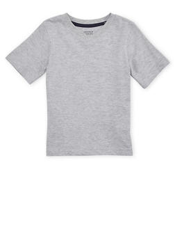 Boys 4-7 French Toast Basic V Neck Tee - 6703068320020