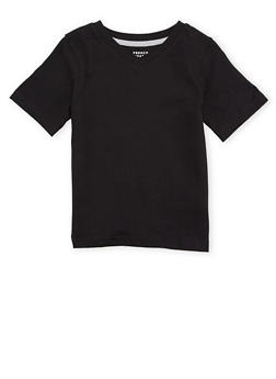 Boys 4-7 French Toast V Neck Tee - 6703068320021