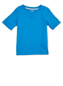 Boys 4-7 French Toast Short Sleeve V Neck Tee - 6703068320023