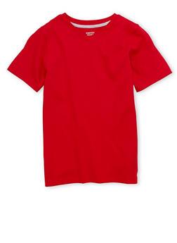 Boys 8-16 French Toast Short Sleeve V Neck Tee - 6704068320024