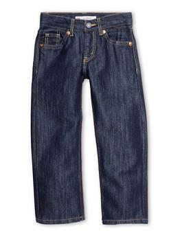 Boys 4-7x Levis Straight Leg Jeans - 6730070340003