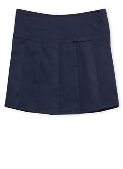 Girls 4-6x French Toast Pleated Skort School Uniform - 6805008930012
