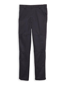 Boys 4-7 Navy Twill School Uniform Pants - 6855008930039