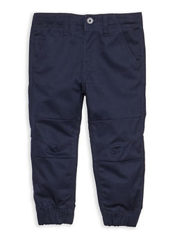Boys 4-7 Twill Jogger Pant School Uniform - 6855008930050