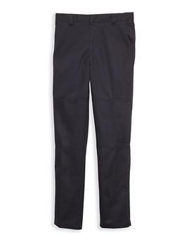 Boys 8-14 Adjustable Waist Pants School Uniform - 6865008930039