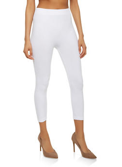 Basic Cropped Leggings - 7067041450441