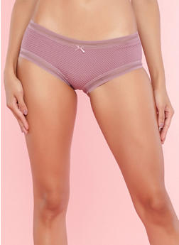 Fishnet Lace Boyshort Panties - 7150068067468