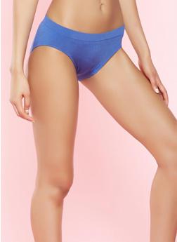 Solid Bikini Panties - 7162064876763