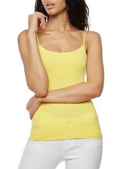 Basic Shelf Bra Camisole - 7201054261001