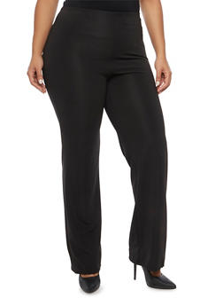 Plus Size Twill Pants - 8441020621530
