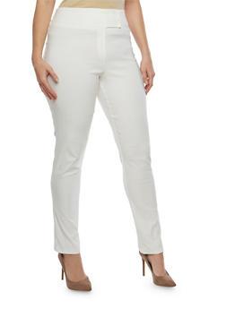 Plus Size Stretch Skinny Pants - 8441020622379