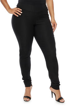 Plus Size Skinny Pants in Stretch Knit - 8441020628877