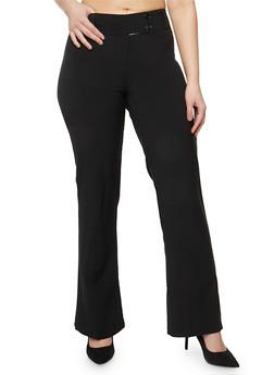 Plus Size Dress Trousers - 8441062701730