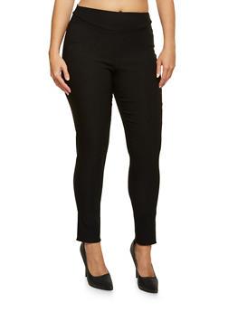 Plus Size Stretch Skinny Pants - 9441020626832