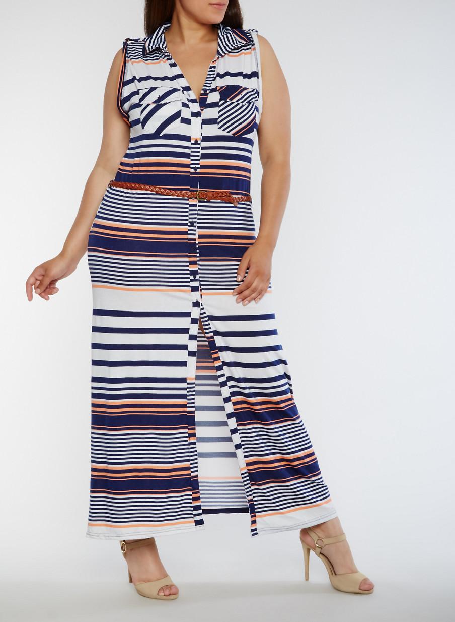Plus Size Casual Dresses | Rainbow