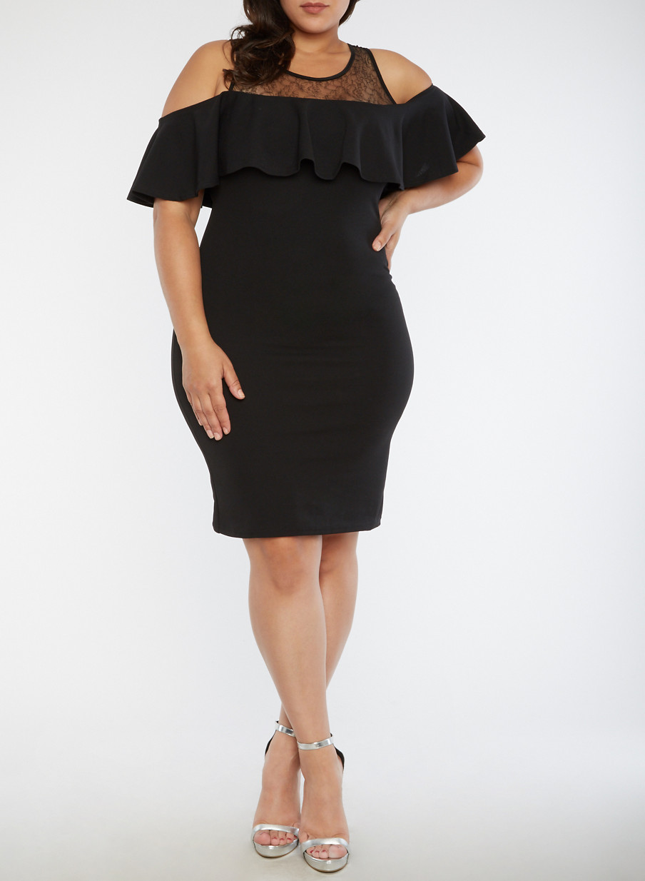 plus size midi dresses | rainbow
