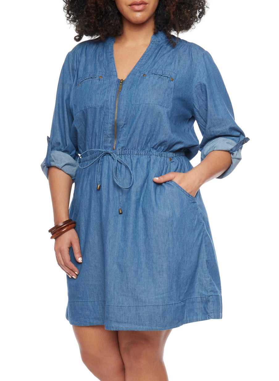 Images of Jean Dresses - Fashion Trends and Models
