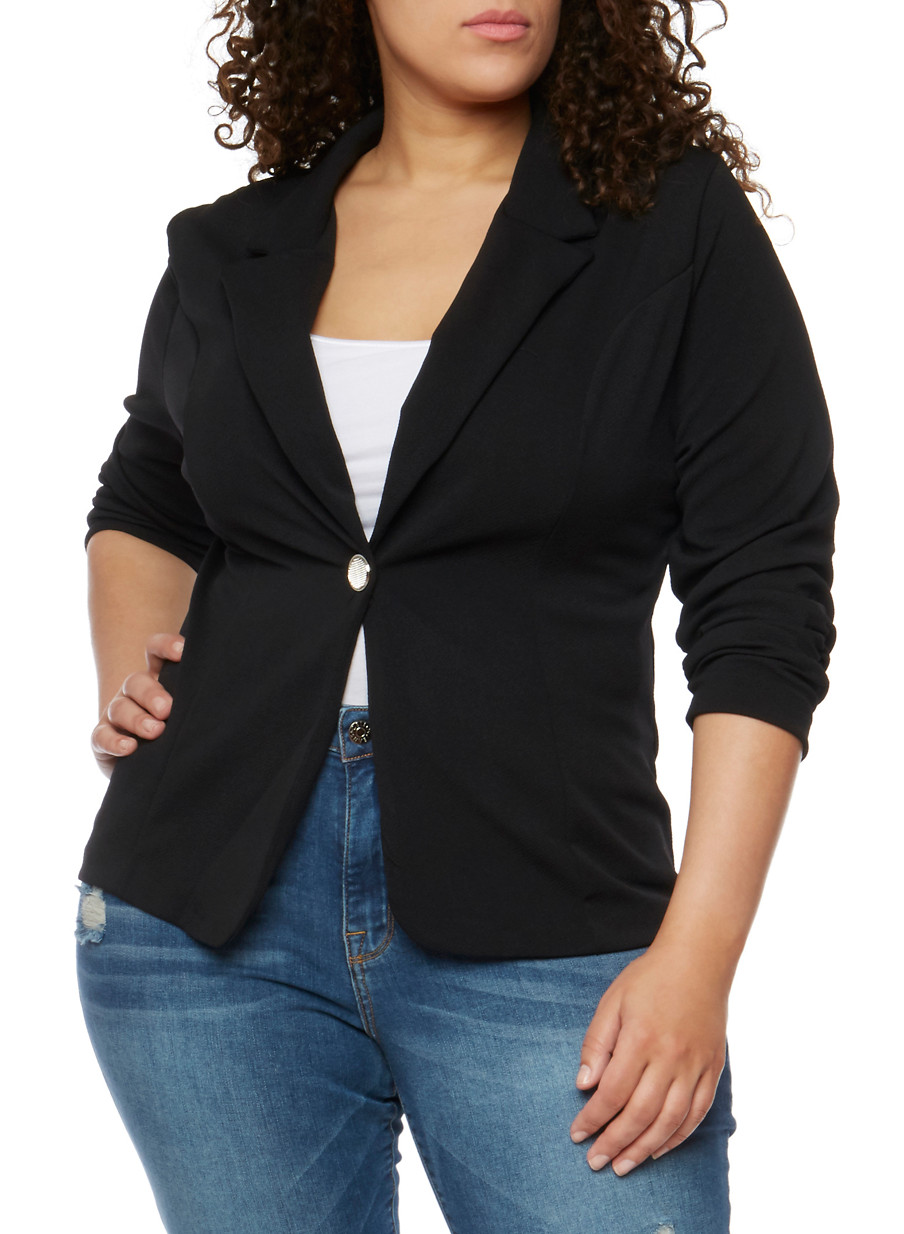 Plus Size Blazers for Women   Rainbow