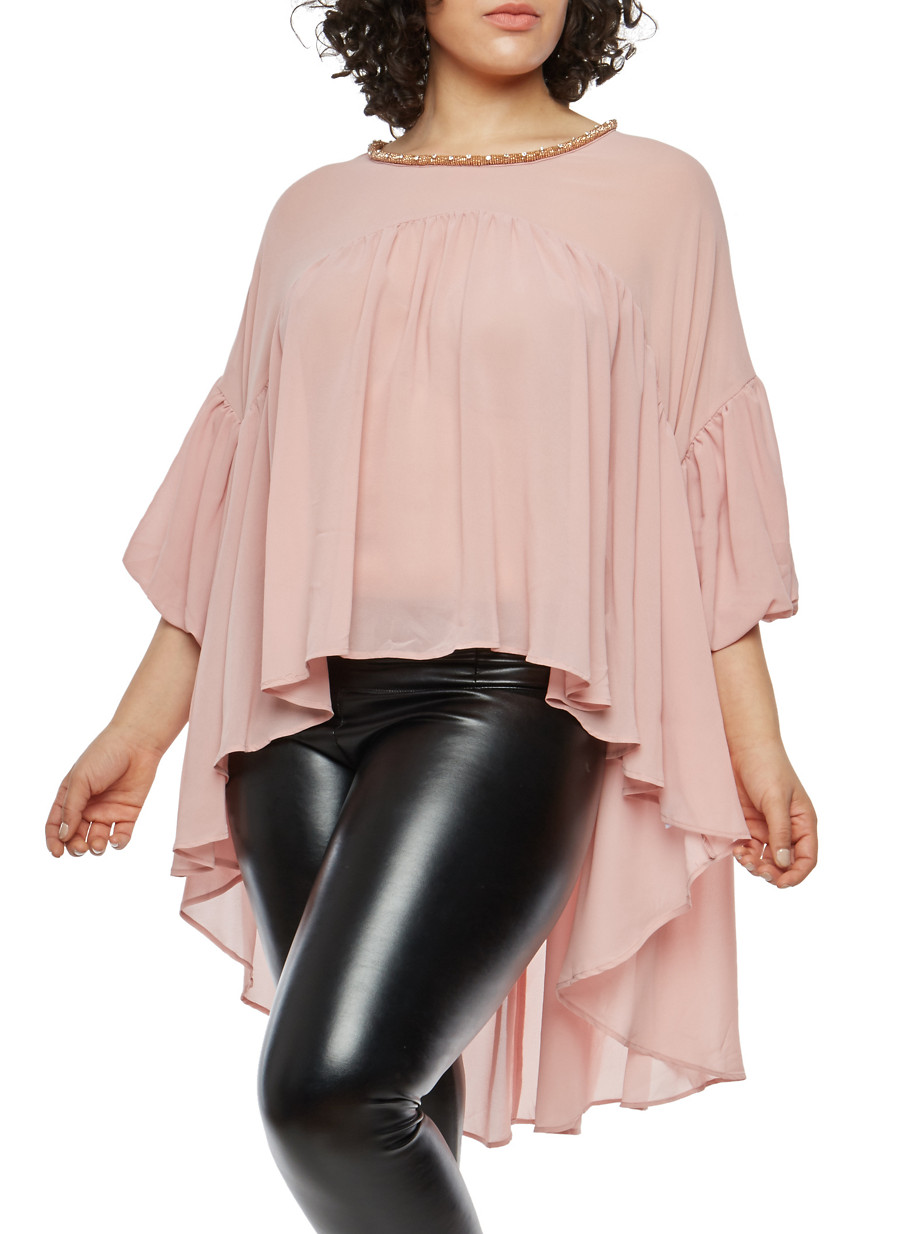 plus size tops for women | rainbow