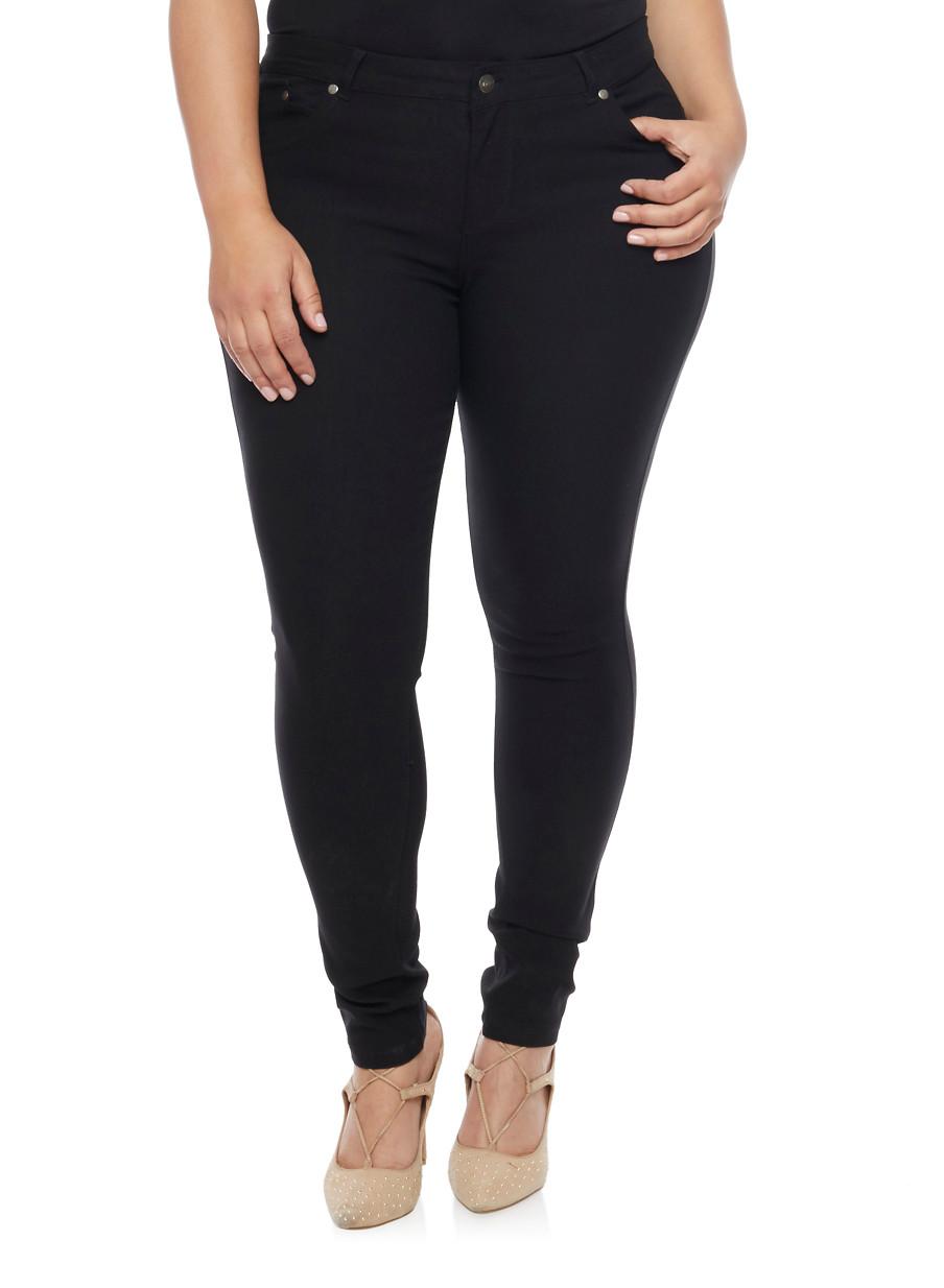 Plus Size Cut Up Jeans - Is Jeans