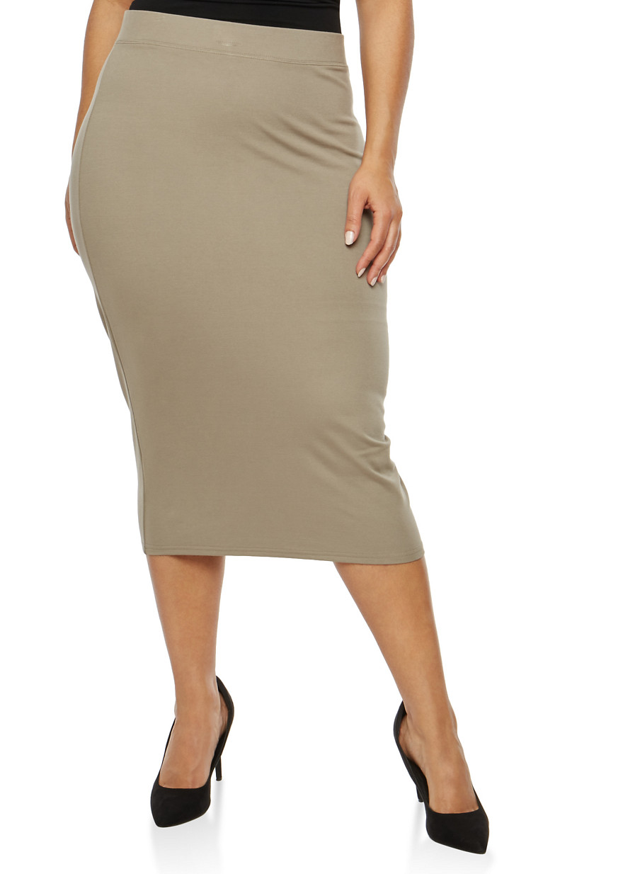 plus size skirts rainbow
