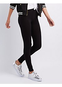 Ankle Length Stretch Cotton Leggings
