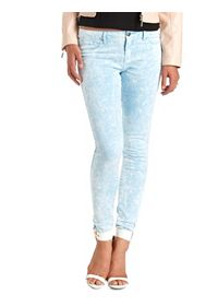 "Refuge ""Skin Tight Legging"" Light Acid Wash Jeans"