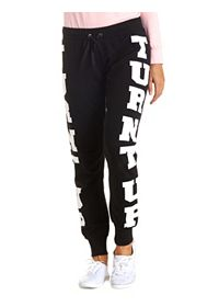 Turnt Up Graphic Skinny Sweatpants