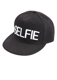 Selfie Embroidered Baseball Cap