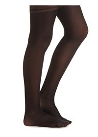 Sheer Bow Garter Tights