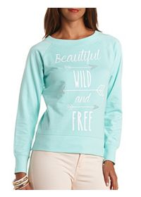 Wild & Free Arrow Graphic Sweatshirt