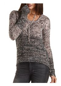 Marled Ombre Sweater