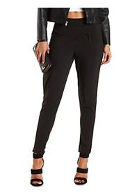 Asymmetrical Wrap Trousers
