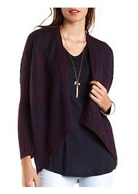 Marled Cocoon Cardigan Sweater