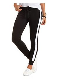 Side Stripe Skinny Sweatpants