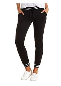 Sporty Striped Sweatpants