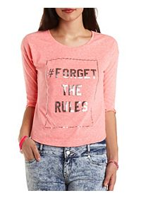Forget the Rules Graphic Tee