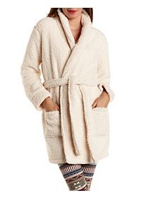 Super Soft Sherpa Fleece Robe