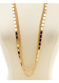 Layered Mixed Chain Necklace