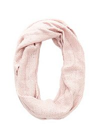 Shimmer Knit Infinity Scarf