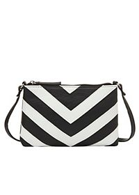 Chevron Cross-Body Purse