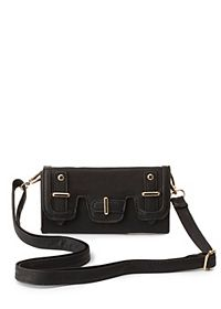 Belted Cross-Body Wallet