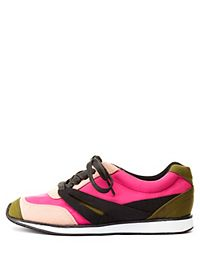 Qupid Color Block Sneakers
